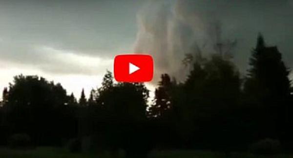 Ураган Ирма: в небе над США появилось жуткое лицо