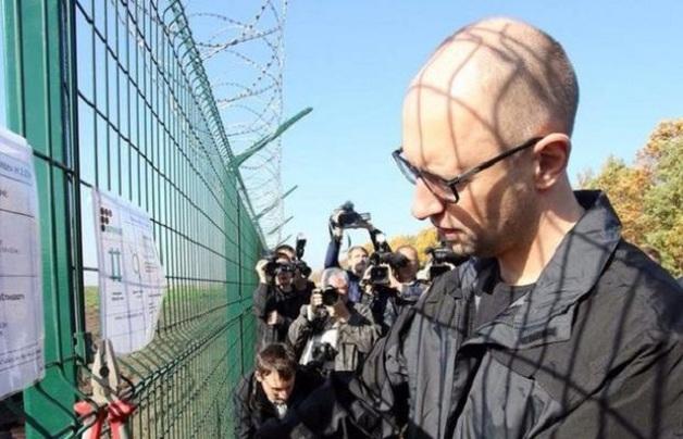Стена Яценюка: кто получает миллионы за обустройство границы